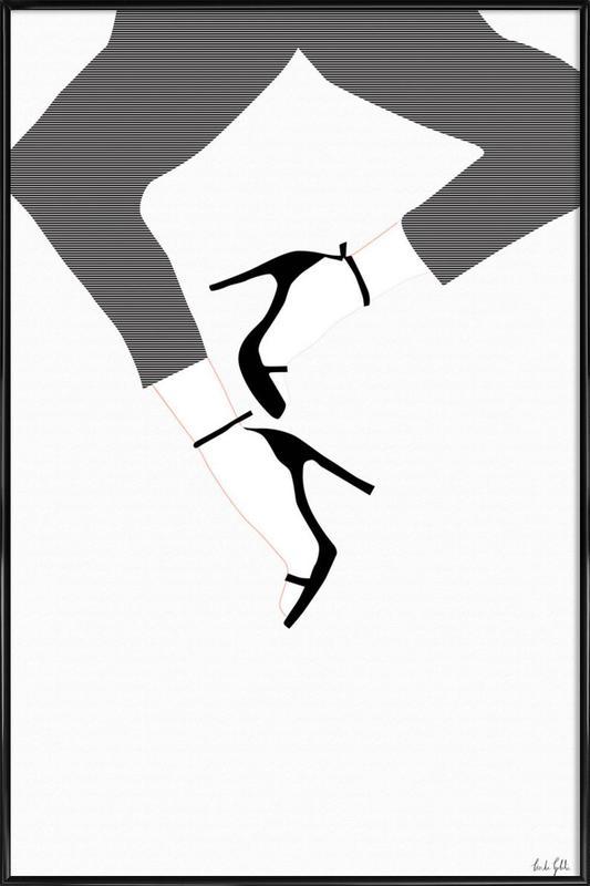 High Heels Framed Poster