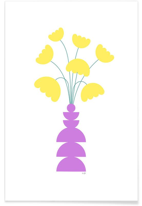 , Tulips poster