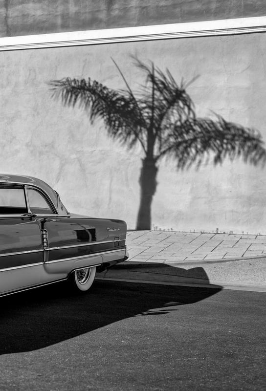 Packard Minimal Impression sur alu-Dibond
