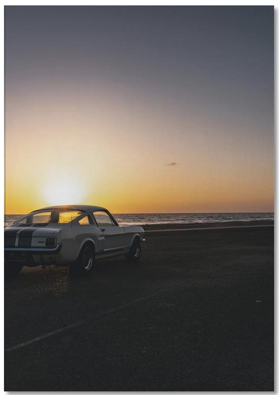 Sunset Mustang bloc-notes