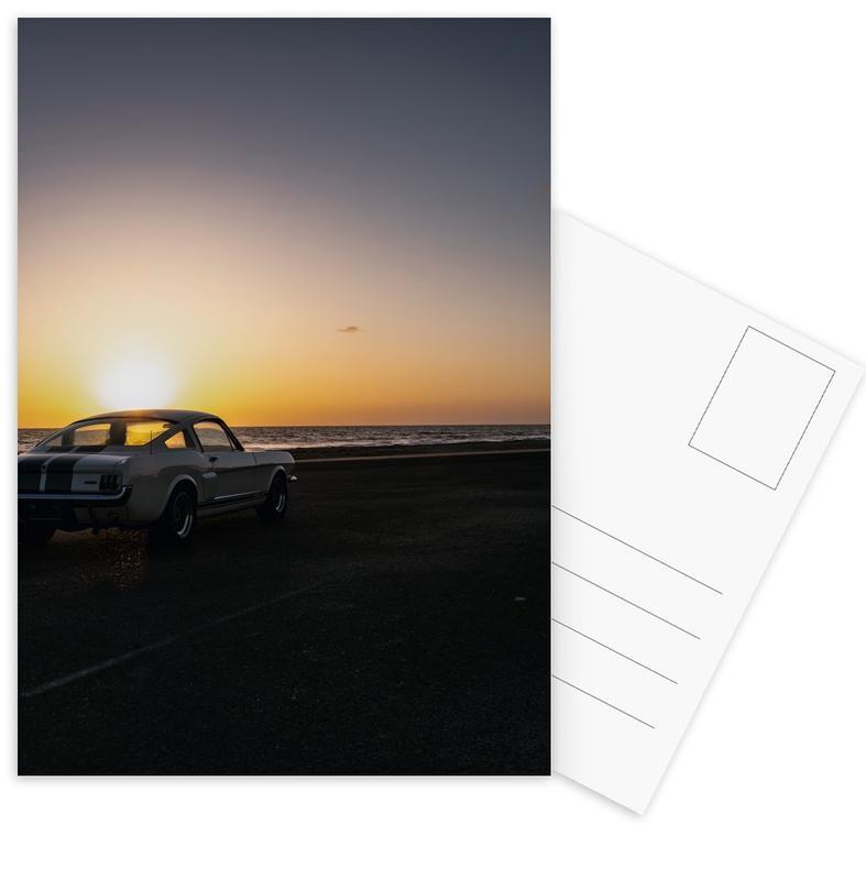 Sunset Mustang cartes postales