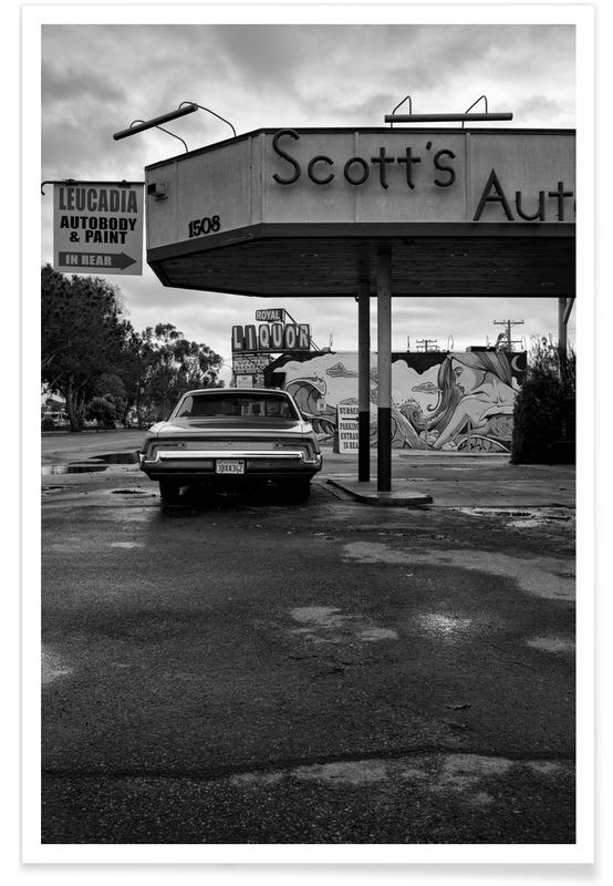 Scott's Automotive II Poster