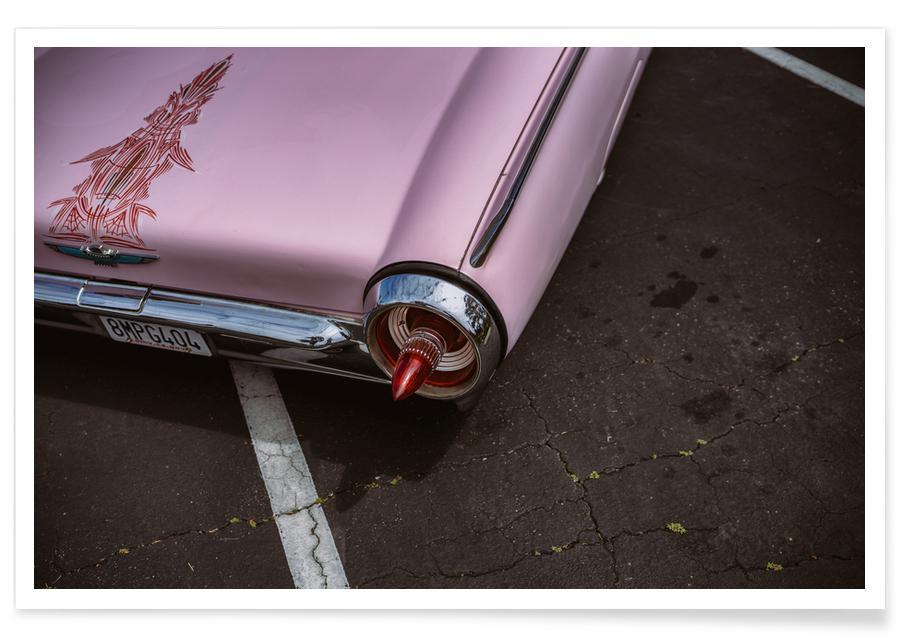 Voitures, Pink Bird affiche