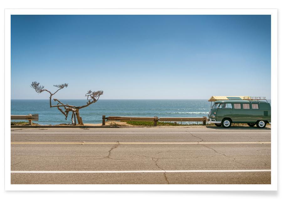 Oceanen, zeeën en meren, Stranden, Reizen, Auto's, Camp Sunshine poster