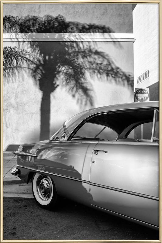 California Ford -Poster im Alurahmen