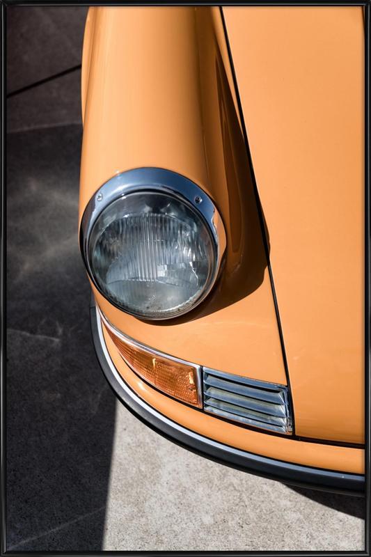 Porsche 911 ingelijste poster
