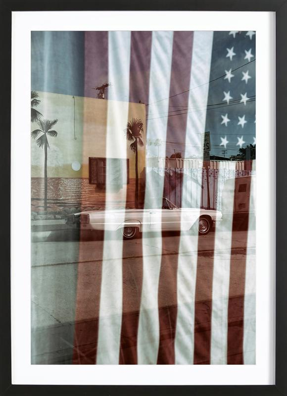 American Reflection Framed Print