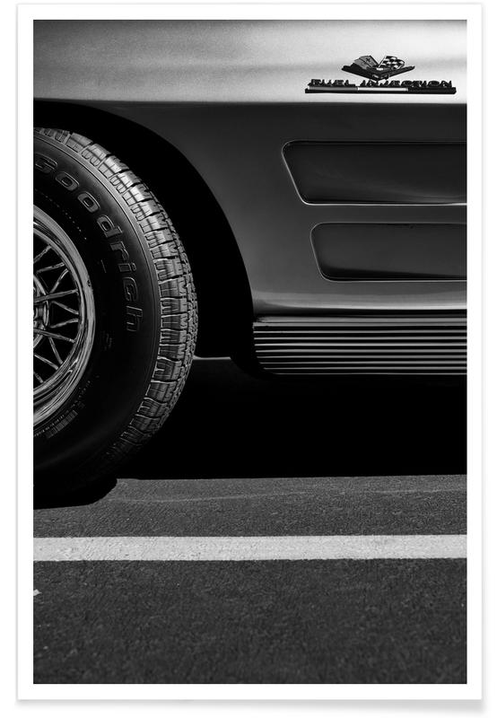 Fuel Injection Photograph Poster