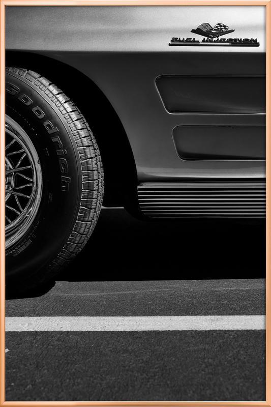 Fuel Injection -Poster im Alurahmen