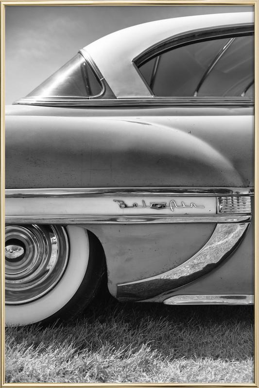 Bel Air poster in aluminium lijst