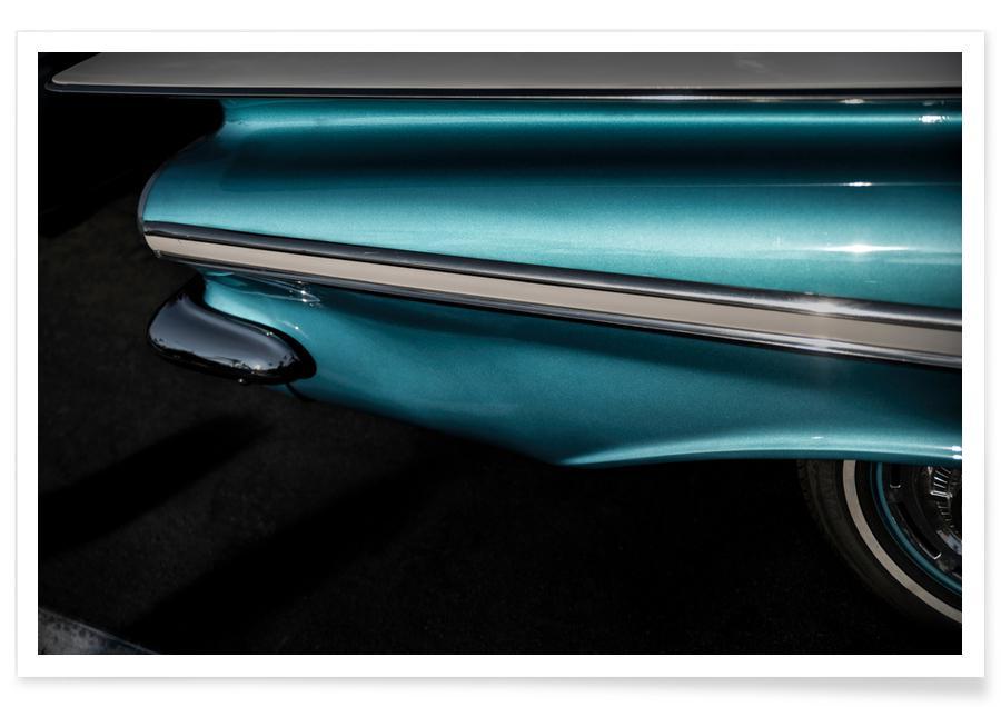 Impala turquoise - Photographie affiche