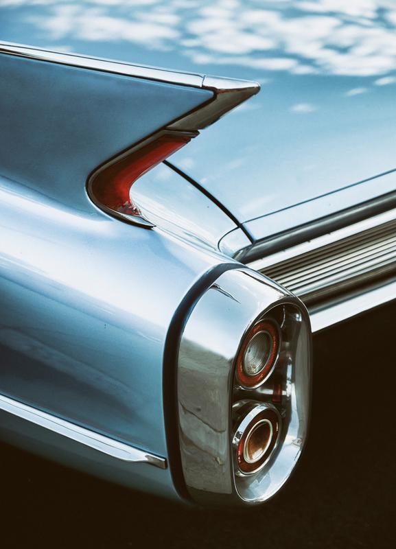 Cadillac Sky Canvas Print