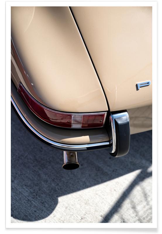 Foto van Porsche 911 detail poster