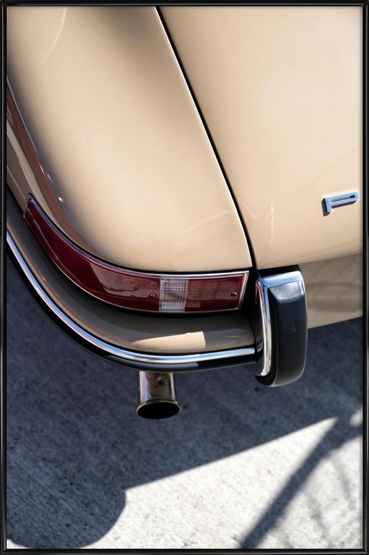Porsche 911 Detail affiche encadrée