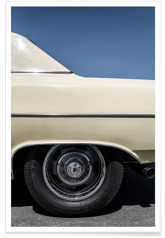Vintage Chevrolet Malibu Photograph Poster