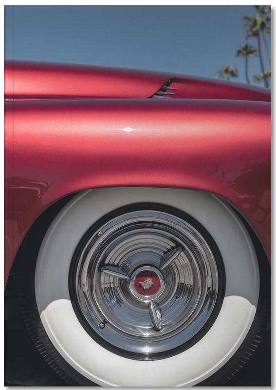 Mercury Red Notebook