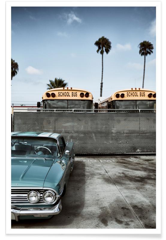 Autos, Impala School II -Poster