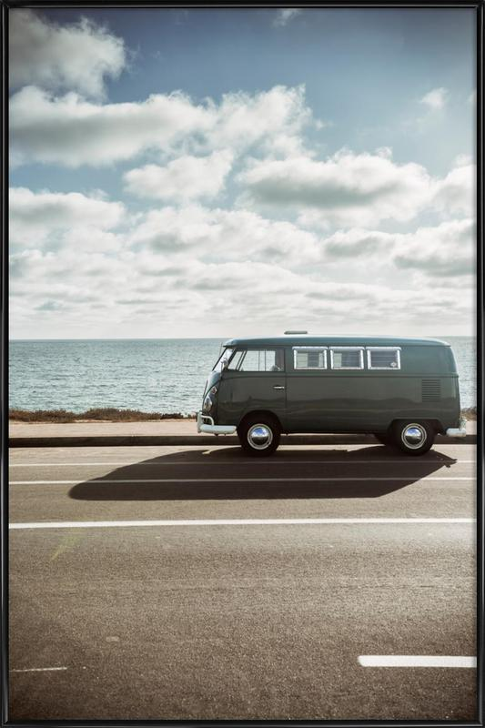 Wolfsburg Surf Framed Poster