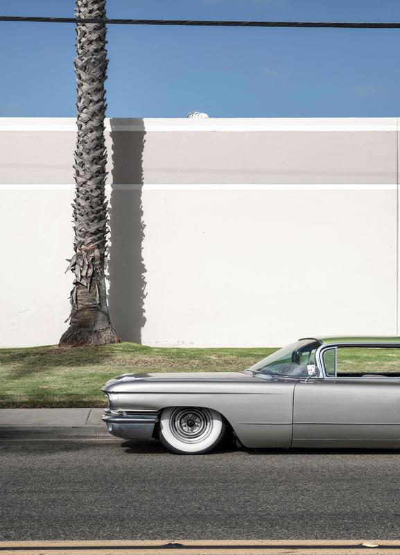 CA Cadillac -Leinwandbild