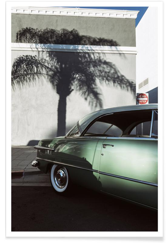 Voitures, California Ford affiche