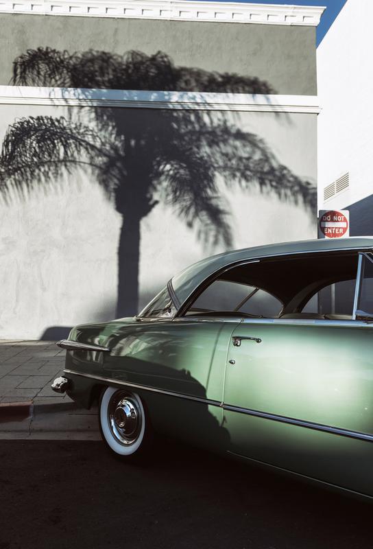 California Ford tableau en verre