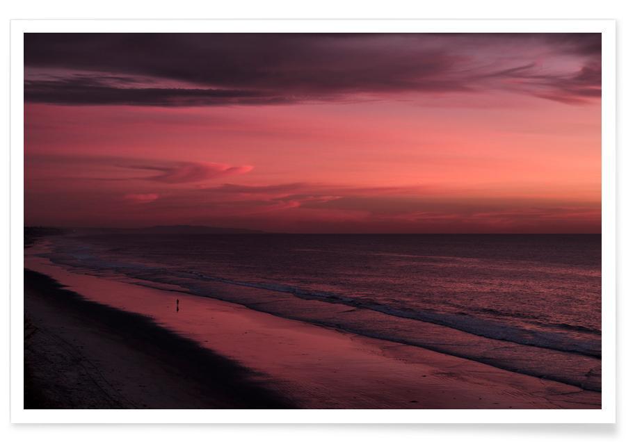 Sunset Walker Poster