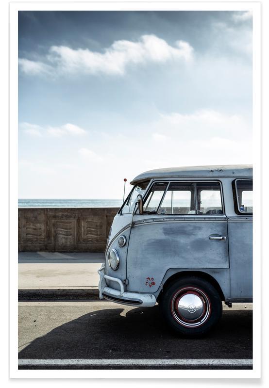 Cars, Wolfsburg Surf Blue Poster