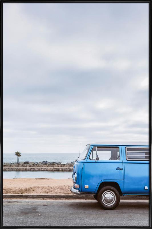 Blue Lagoon affiche encadrée