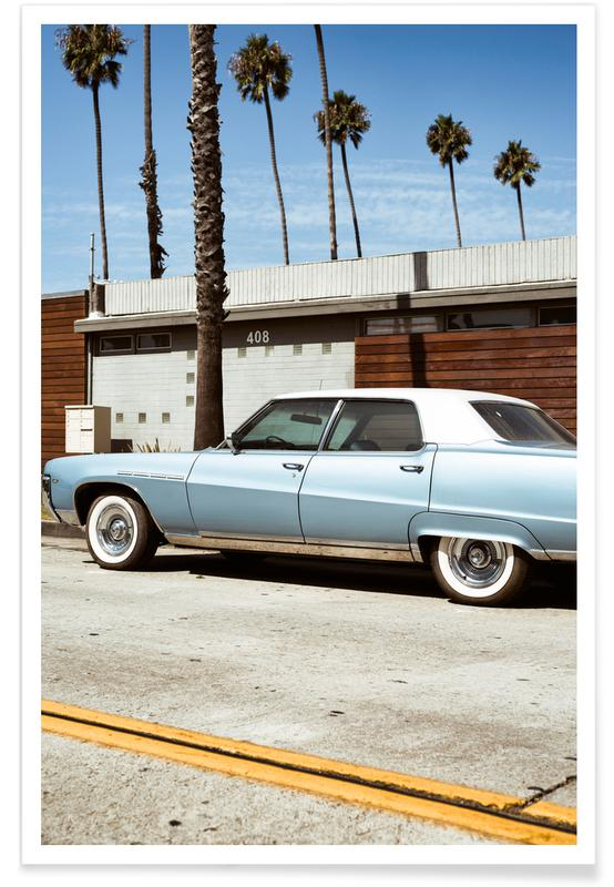 Buick Blue -Poster
