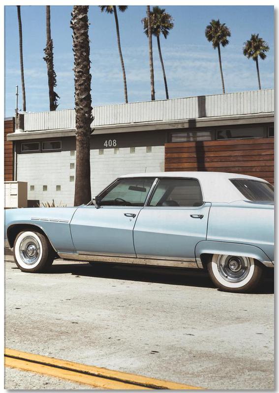 Buick Blue -Notizblock