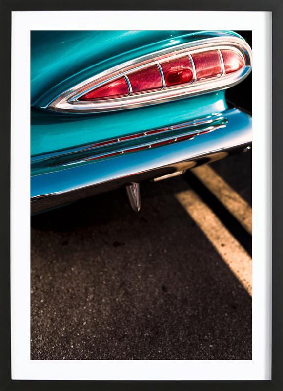 Impala Colors affiche sous cadre en bois
