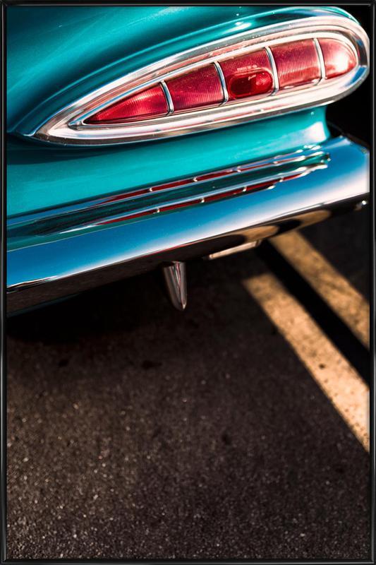 Impala Colors affiche encadrée