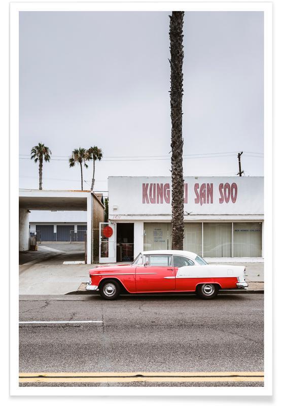 Cars, Kung Fu Bel Air Poster