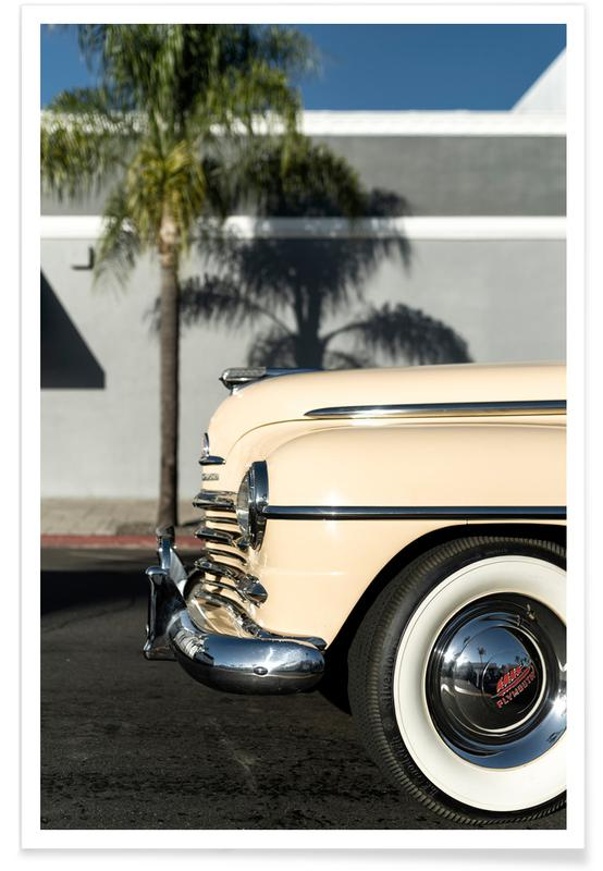 Voitures, San Diego Plymouth affiche