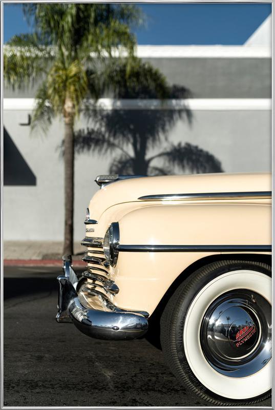San Diego Plymouth -Poster im Alurahmen