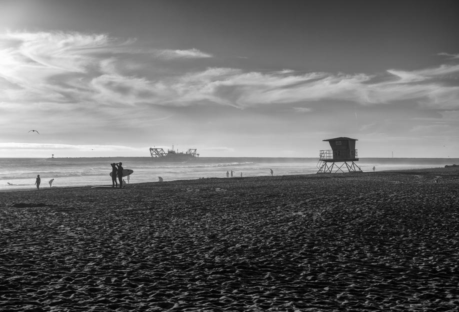 San Diego Surf -Alubild