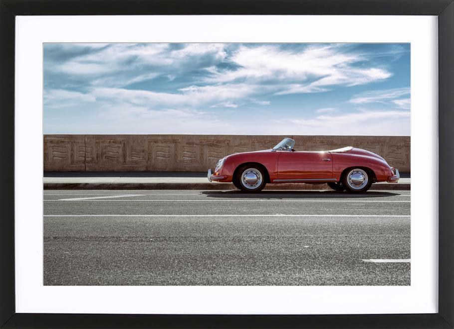 Speedster Cruise -Bild mit Holzrahmen