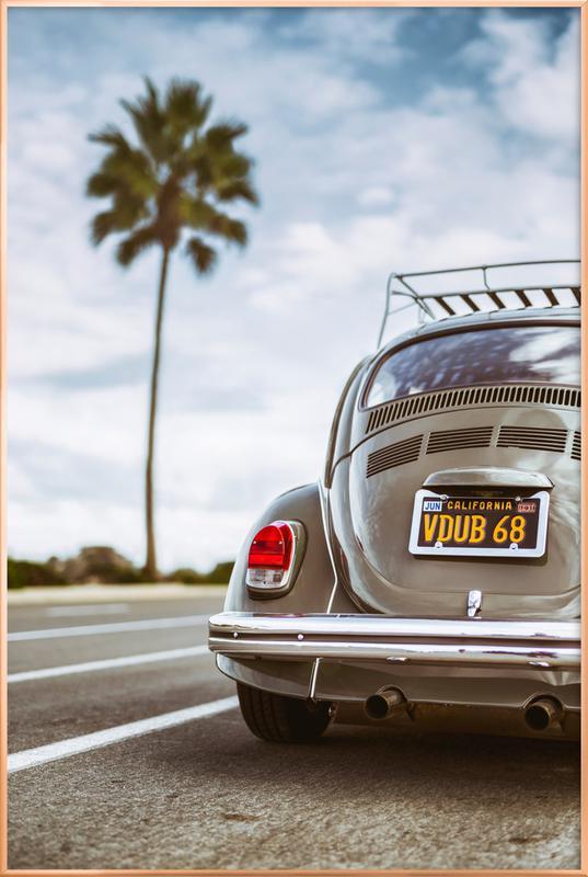 VDUB68 Poster in Aluminium Frame