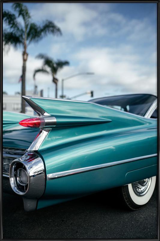 Cadillac Queen affiche encadrée