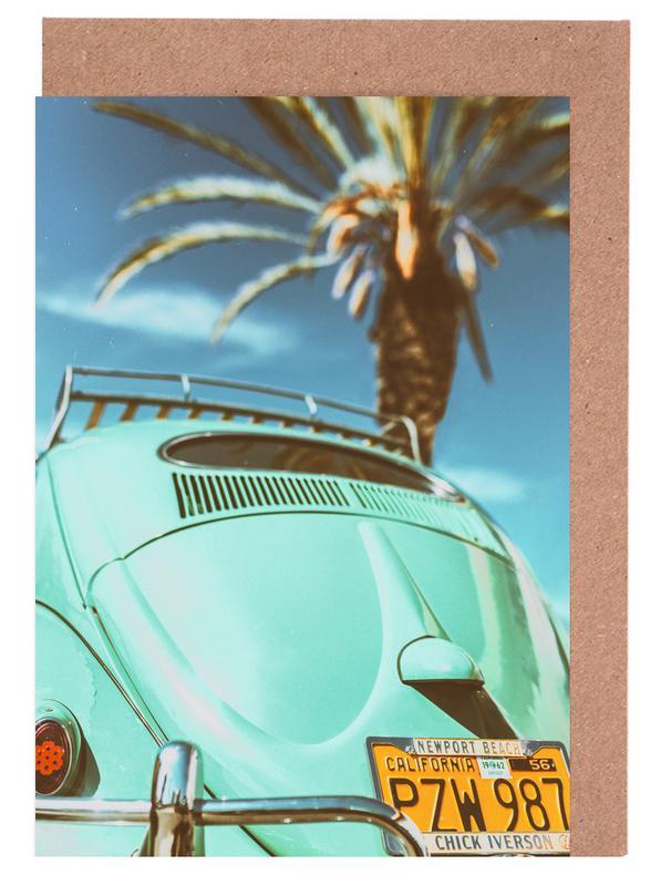 California Turquoise cartes de vœux
