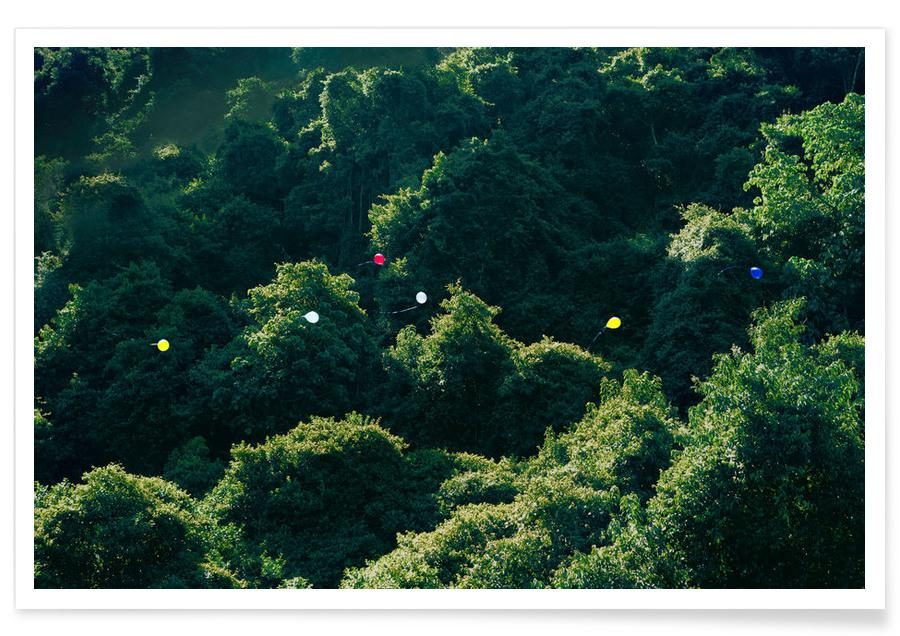 Bossen, Balloons in the Jungle poster