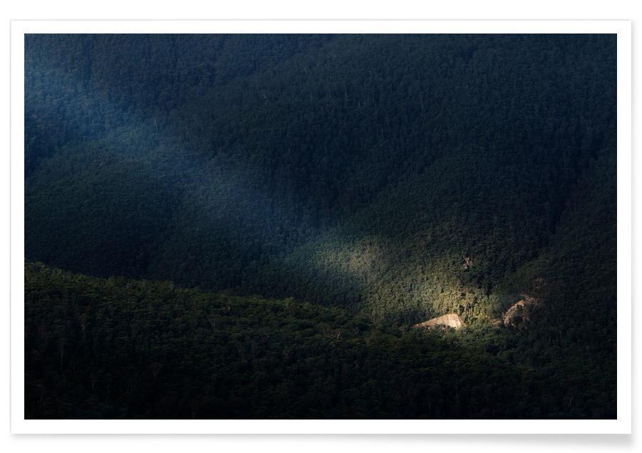Bossen, Blue Mountains Light poster