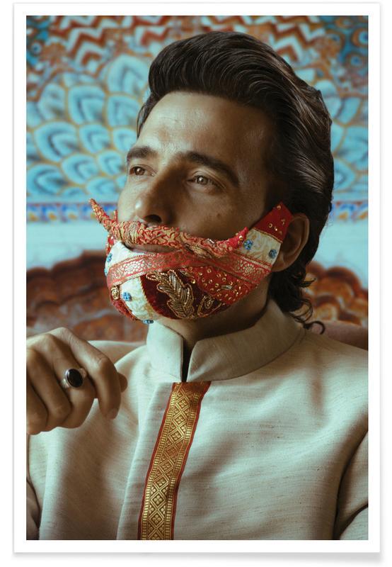 Portretten, Postiche 1 poster