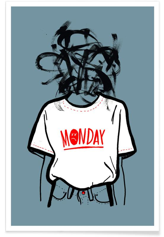 Body Close-Ups, Monday Poster