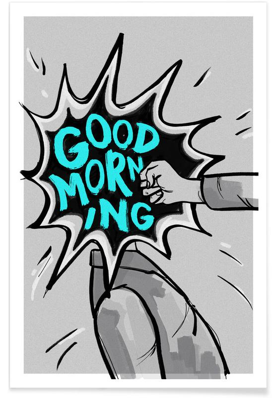 Funny, Good Morning Poster
