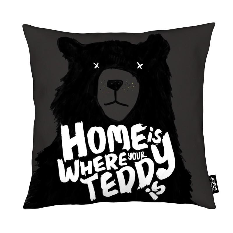 Citations et slogans, Home Teddy coussin