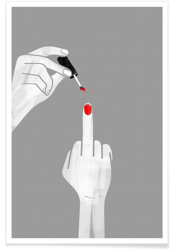 Lustig, Nails Fuck -Poster