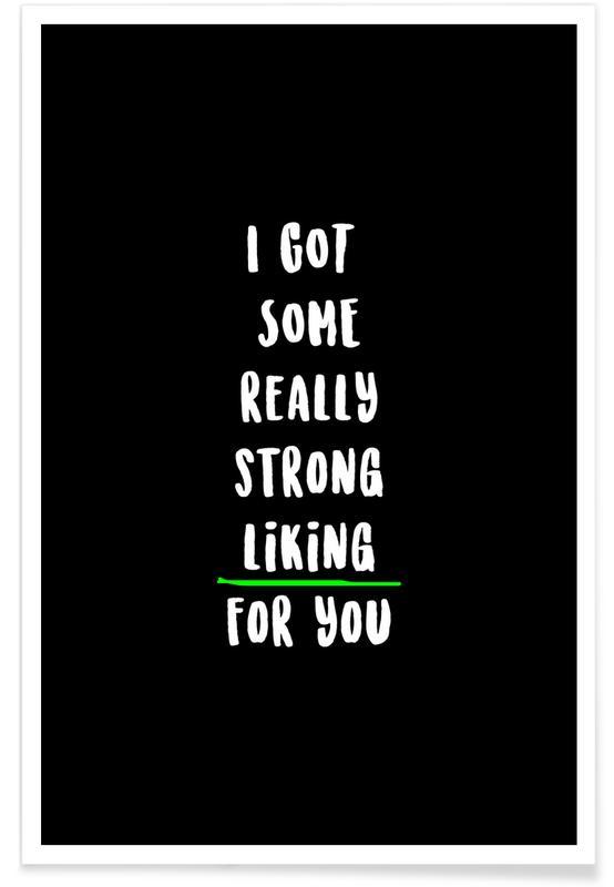 Liefdescitaten, Quotes en slogans, Valentijnsdag, Liking poster
