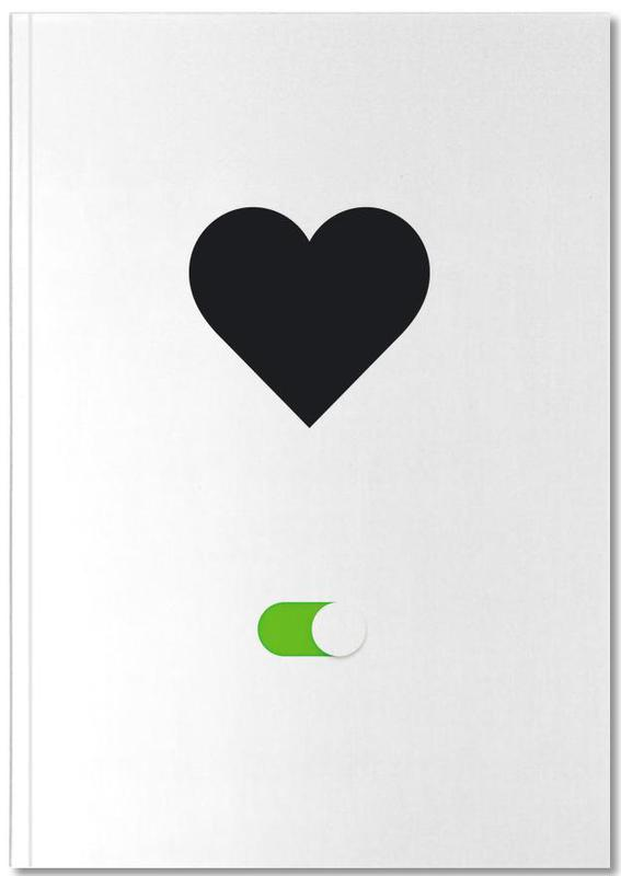 Hearts, Valentine's Day, Love On Notebook