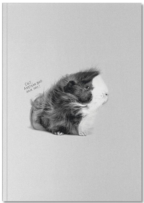 Noir & blanc, Humour, Bad Hair Notebook